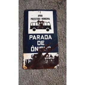 Agata Parada De Onibus Antiga Com Desgaste Do Tempo
