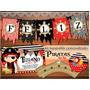 Kit Imprimible Piratas Nene Nautico Marineros Candybar Barco