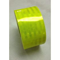 Cinta Reflectante Verde 10.16cm X 304.8cm Vehiculo Seguridad