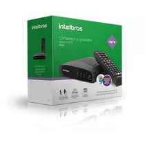Conversor Digital Tv Intelbras C/gravador Cd636