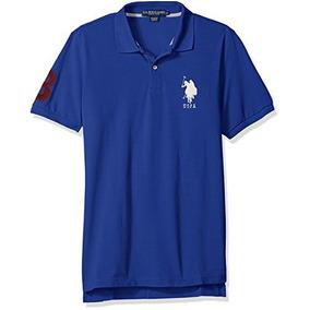 Ee.uu. Polo Assn. Camisa De Los Hombres Solid Pique (grupo
