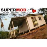 Casa Vivienda Modular Habitacional Prefabricado 36m2