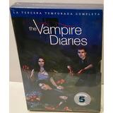 The Vampires Diaries Tercera Temporada 5 Dvd Original Nuevo