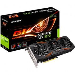 Placa De Vídeo Gigabyte Geforce Gtx 1070 G1 8gb 4 Monitores