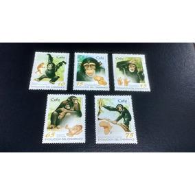 Selos Evolução Do Chimpanzé Cuba 1998