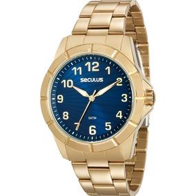Relógio Seculus Feminino Glamour 20562lpsvds1