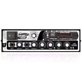 Amplificador Mixer Mesa 300wrms 2 Canais Som Igreja Casa