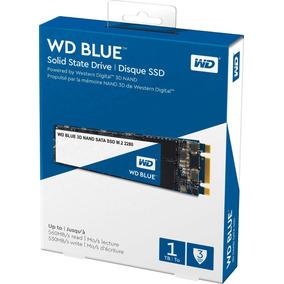 Disco Rigido 1tb Wd Ssd Blue 3d M2 2280 Sata Western