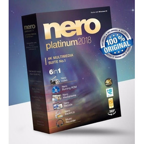 Nero Platinum 2018 Completo + Content Packs 1 E 2 Win Ou Mac
