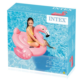 Inflable De Flamingo Intex Original