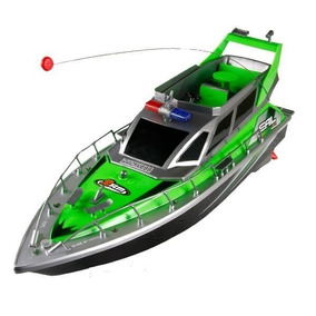 Barco Lancha Controle Remoto Bateria Recarregável