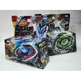 Kit Beyblades Ferro Fang Leone + Bigbang Pegasus+ Lancadores