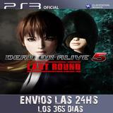 Dead Or Alive 5 Last Round Ps3 Digital Envios Inmediatos!