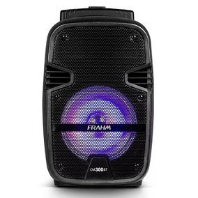 Caixa Ativa Multiuso Frahm Cm 300 Bt 150w Rms - Acompanha Co