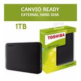 Disco Duro Portable 1 Tera Toshiba - Envio Gratis Solo Hoy