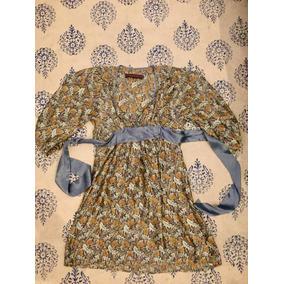 Vestido Seda Rapsodia