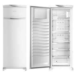 Freezer Vertical Brastemp Flex 229 Litros 110v - Bvr28mb