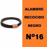 Alambre De Fardo Recocido Negro Nº16 - Rollo X 1 Kg Acindar