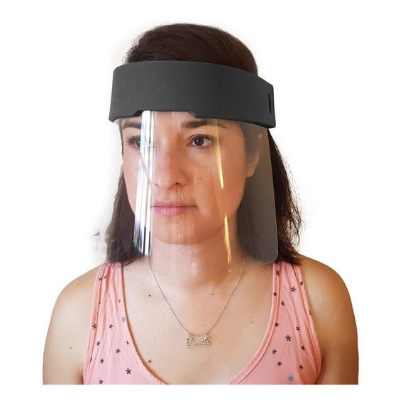 Máscara De Protección Facial Barrera Sanitaria Con Vincha