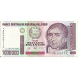 Perú 1.000.000 Intis 1990