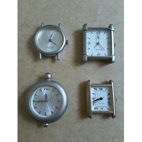 Lote Relogios Calvin Klein Timex Japan 360 Graus Sem Pulseir