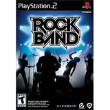 Rock Band Ps2 Sony Playstation 2