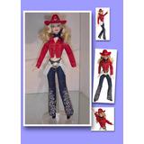 Boneca Barbie Cowgirl - Raridade Colecionador