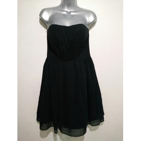 Vestido Negro Strapless, Aeropostale.