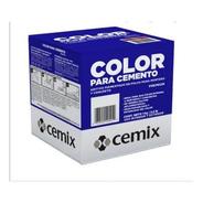 5 Piezas De Pigmento Negro Cemix 1 Kg
