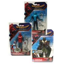 3 Pack Spiderman Homecoming Traje Hecho En Casa, Buitre,