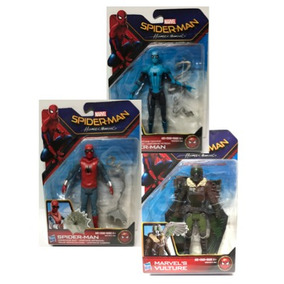 3 Pack Spiderman Homecoming Traje Hecho En Casa, Buitre,