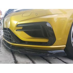 Lip Spoiler Frontal Vw Golf R, Gti O Tsi 2013 Al 2018 Fibra