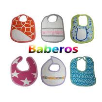 Baberos, Bucheros, Pañales De Tela De Bebe