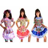 Vestido Junino Criança Festa Junina Caipira Quadrilha Infant