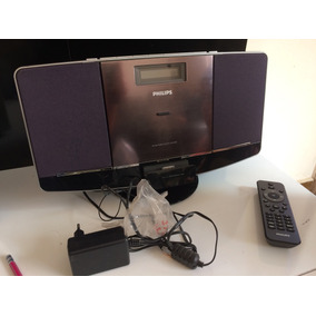 Som Micro System Philips Com Cd Mp3 Docs Station Iphone 4