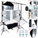 Set Equipo De Fotografia Linco Studio