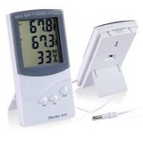 Termometro Higrometro Lcd Digital Con Sensor Para Exteriores