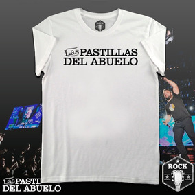 Remera Las Pastillas Del Abuelo - Rock Barrial