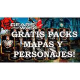 Packs,personajes Y Mapas Gow4