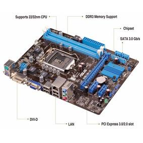 Kit Placa Mãe Asus Processador Core I3 Memória 4gb Ddr3