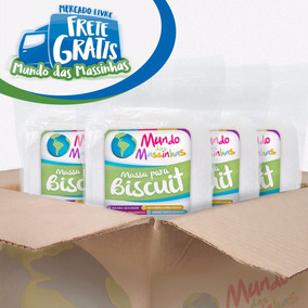 Massa De Biscuit Natural Mundo Das Massinhas 12kg