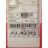 Pistones Camisa Y Anillo Kit Asembly Renault 5/12 1.3 Mahle