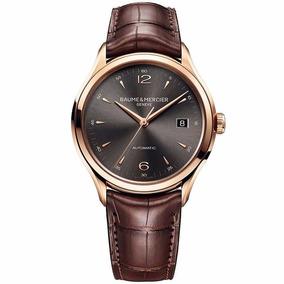 Reloj Baume & Mercier Clifton Automatico Oro Rojo 18k 10059