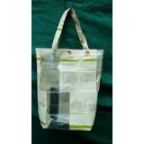 Bolsa (plástico Reciclado) Eco Modelo 55 X 55 Decoartesano