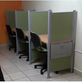 Mamparas Call Center - Estación Modular Oficina - Cybercafe