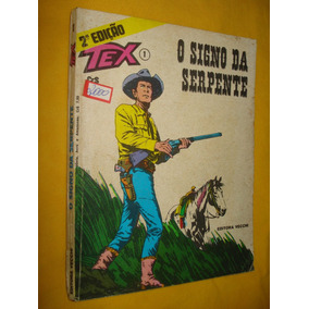 Tex Nº 1 O Signo Da Serpente Vecchi 2ª Edição