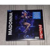 Madonna Rebel Heart Tour Bluray+ Cd Made In Usa Multiregion