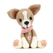 Chihuahua - Perros Crochet - Nariz De Azúcar Amigurumis