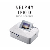 Impresora Fotográfica Canon Selphy Cp1000 + Kit Rp 108