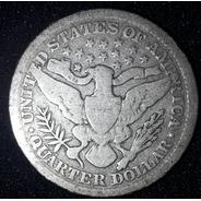 Moeda Quarter Dollar 1899 Estados Unidos